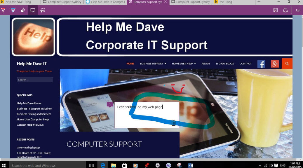 dave for windows 10
