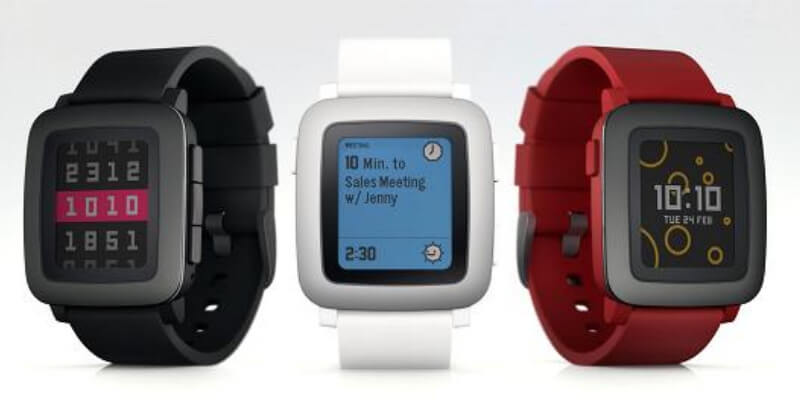 Pebble Time Steel SmartWatches