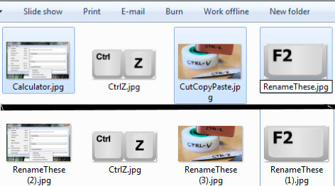 Quick PC Tips - How to Batch Rename Files using F2