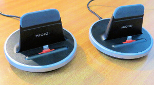 KiDiGi recharging dock for iPhone and iPad